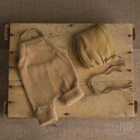 Cozy Romper and Bonnet Set