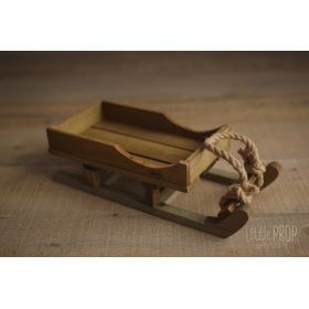 Wooden Sleigh Newborn Photography Prop