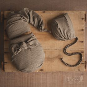 Olive Wonder Wrap Newborn Photography Prop