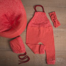 Cover & Outfit Bright Coral