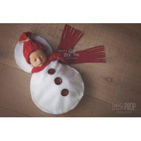 Little Snowman Newborn Photography Prop