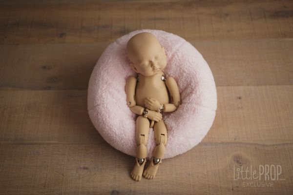 Ultra Soft Sherpa Baby Pink