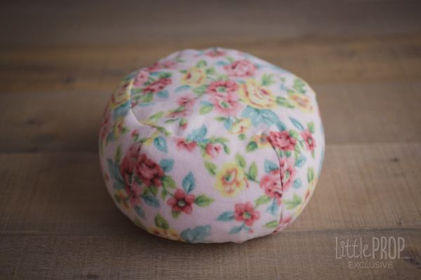 Little Puff Country Pink Flowers Newborn Photography Prop