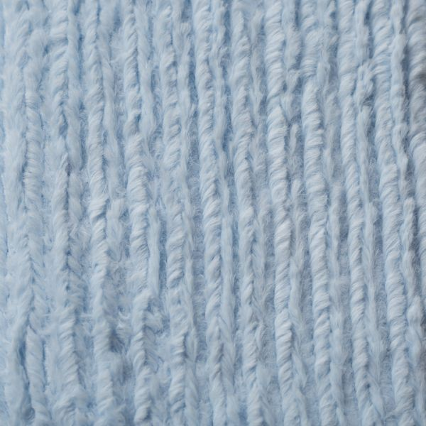 Chenille Striped Baby Blue - Cover Only