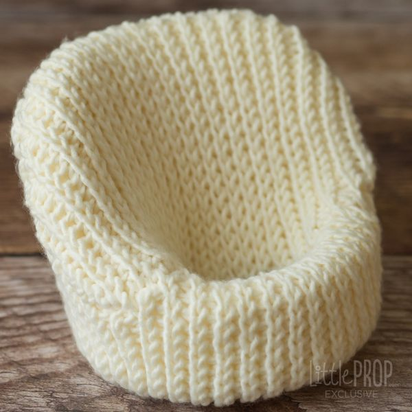 Cover Knitted Newborn photography prop