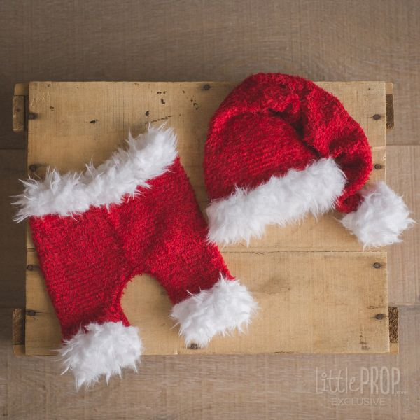 Chenille Red Holiday Outfit