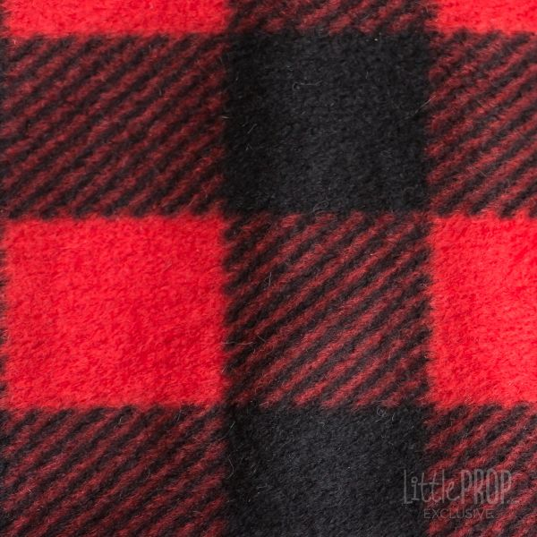 Red Buffalo Plaid Texture