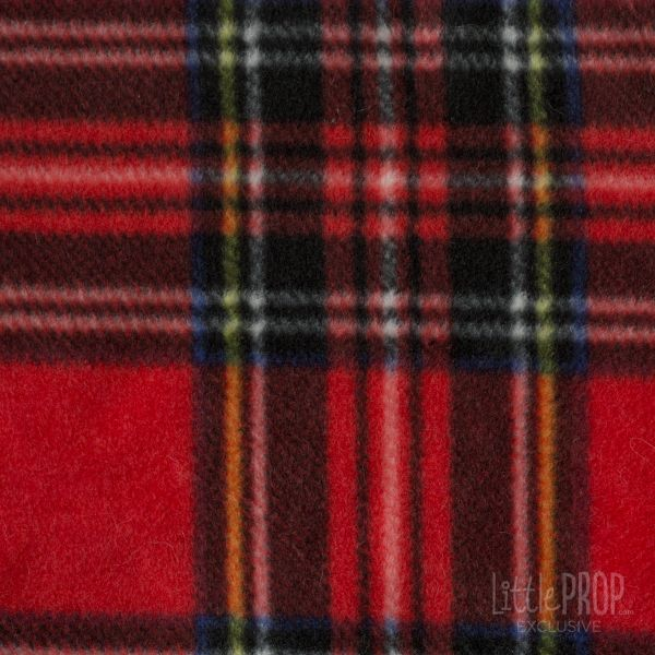 Cozy Red Plaid