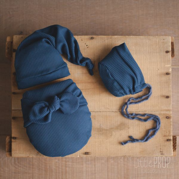 Alice Blue Wonder Wrap Newborn Photography Prop