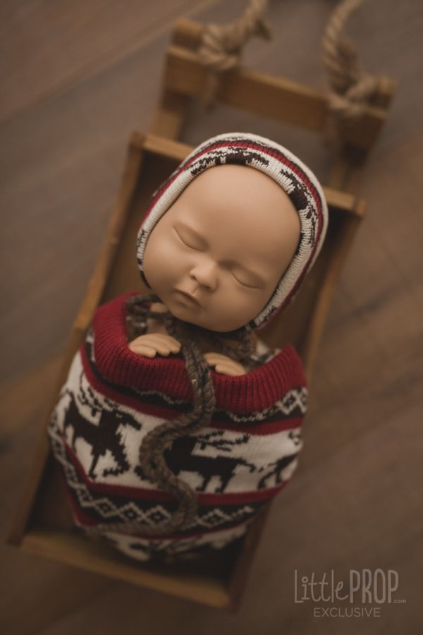 Newborn Photography Prop Holiday
